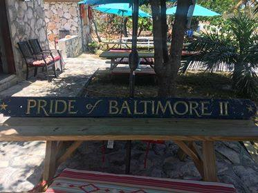 Pride Name Board in Bahamas