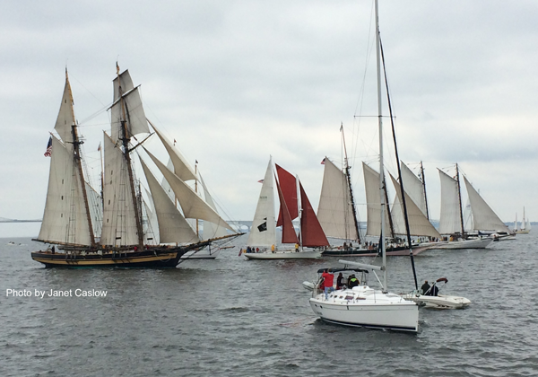 "CAPTAIN'S LOG: 25th Great Chesapeake Bay Schooner Race of 2014 – A story of  the ""new"" schooners…"