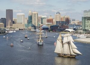 Pride of Baltimore II during Star Spangled Spectacular 2014