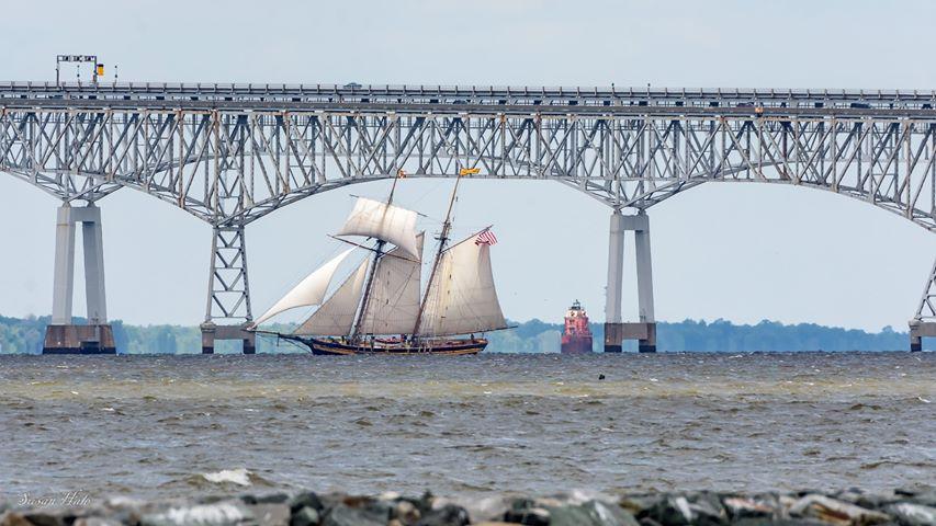 PRIDE II on a shakedown sail