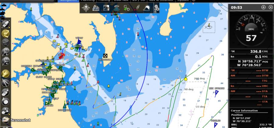 Annapolis Sailing Track